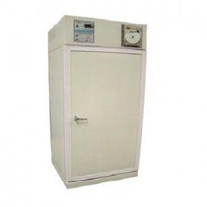 Refrigerador vertical de 19 pies cúbicos para laboratorio esmaltado con 1 puerta sólida y congelador Cat. REF-RVESCV-19 RefriMed