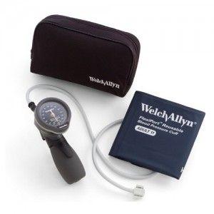 Baumanómetro aneroide de mano con gatillo DuraShock serie Oro DS66 Cat WEA-5098-27 Welch Allyn