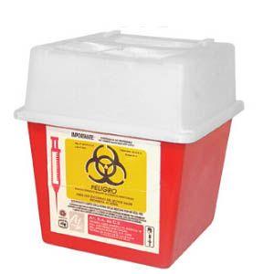Recolector de polipropileno para punzocortantes capacidad volumen: 0.94 A 2.8 Lts. Cat A1C-PC-2 A1 Contenedores