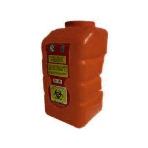 Recolector De Polipropileno Para Liquido, Capacidad Volumen: 12.0 Lts. Cat A1C-PL-12-R A1 Contenedores