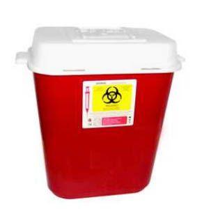 Recolector De Polipropileno Para Punzocortantes Capacidad Volumen: 11.3 A 13.25 Lts. Cat A1C-PC-13 A1 Contenedores