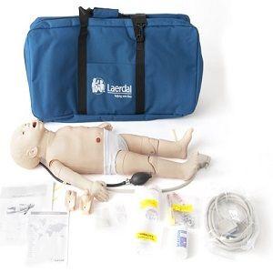 Maniquí bebé de enfermería con sistema SimPad Plus Cat LAR-365-05050 Laerdal