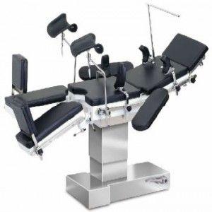 Mesa quirúrgica electrohidraulica modelo DS3 de lujo con elevador de riñon Cat. SEW-DS3