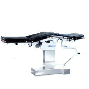 Mesa de cirugía hidráulica de lujo radiotransparente con elevación de riñón Cat. SEW-3008SE