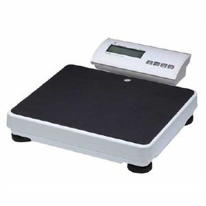 Bascula portátil de piso electrónica con capacidad de 300 Kg Cat BAM-450 Bame