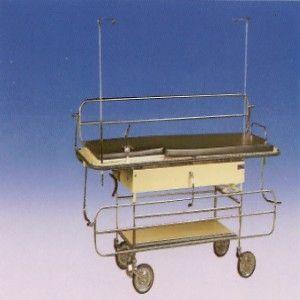 Carro camilla para recuperación de 5 posiciones Cat BAM-610INOX Bame
