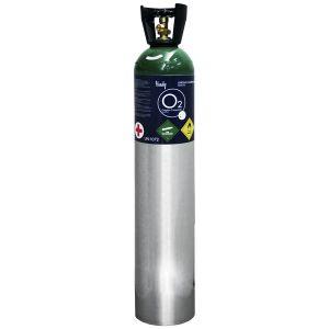 Tanque para oxigeno de 2549 litros con oxigeno Cat. HNY-M90C  Handy