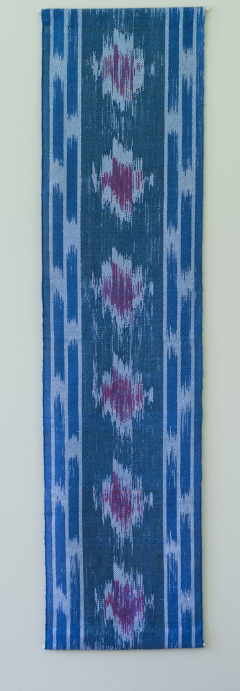 Full weaving project 3 painted warp and ecot 1