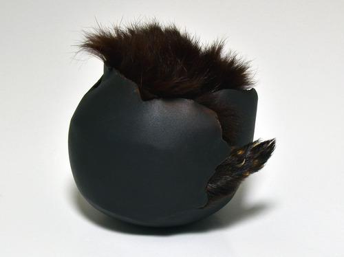 Full mink foot vessel 4412