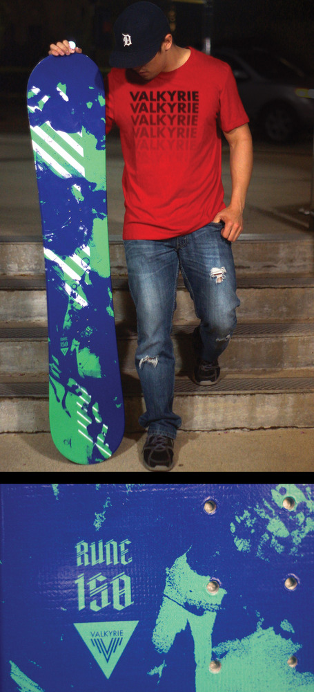 Full valk board