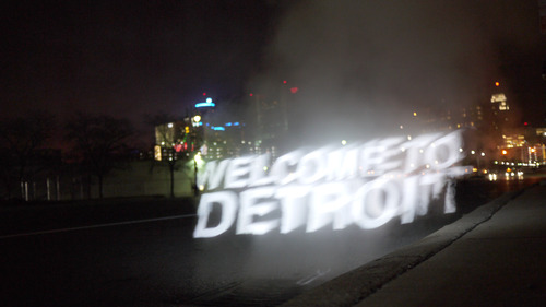 Full welcome to detroit