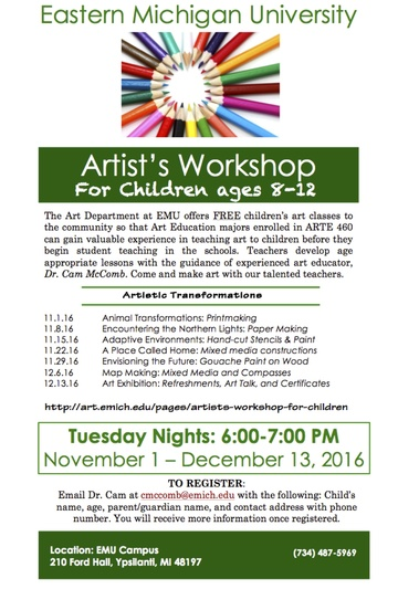 Preview artist workshop