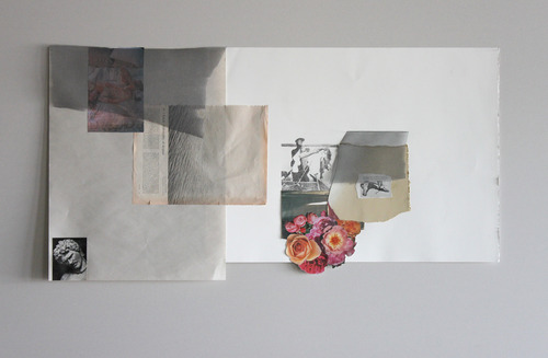 Full a lonely philosophy of despair.collage on paper.2012jpg