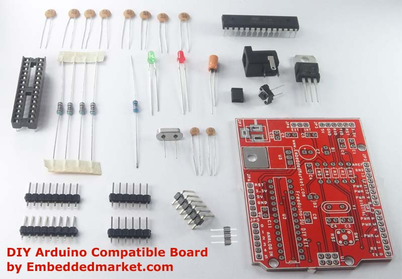 Freeduino diy arduino duemilanove compatible do it yourself kit rs freeduino diy arduino duemilanove compatible do it yourself kit solutioingenieria Image collections