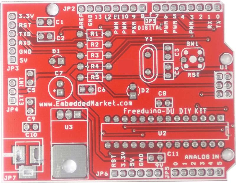Freeduino diy arduino duemilanove compatible do it yourself kit rs freeduino diy arduino duemilanove compatible do it yourself kit solutioingenieria Images