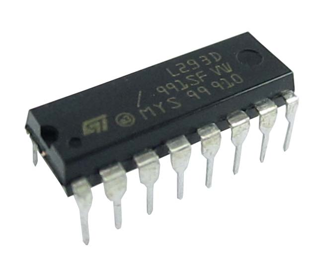 ic l293d india made by texas instruments