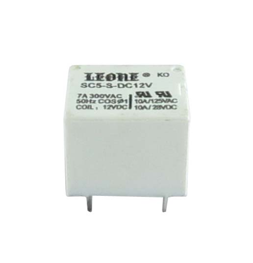 Relay SPDT 12Volts Rs2332 India Made By Leone Relays