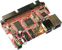 Single Board Linux computer with i.MX233 ARM926J 454Mhz iMX233-OLinuXino-MAXI