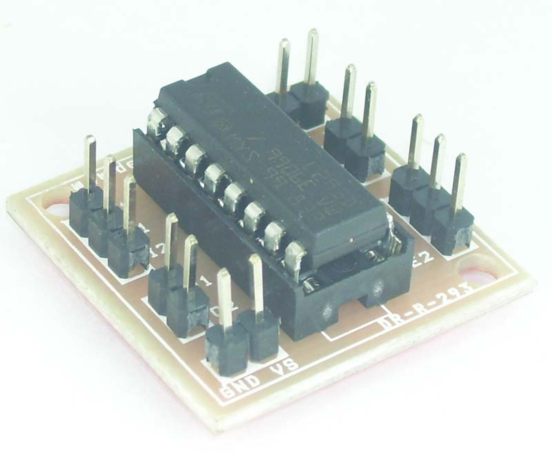 L293d dc motor driver for hobby robot india for L293d motor driver price