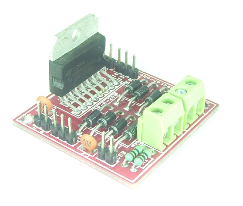 L298 Dc Motor Driver India Made By Embedded