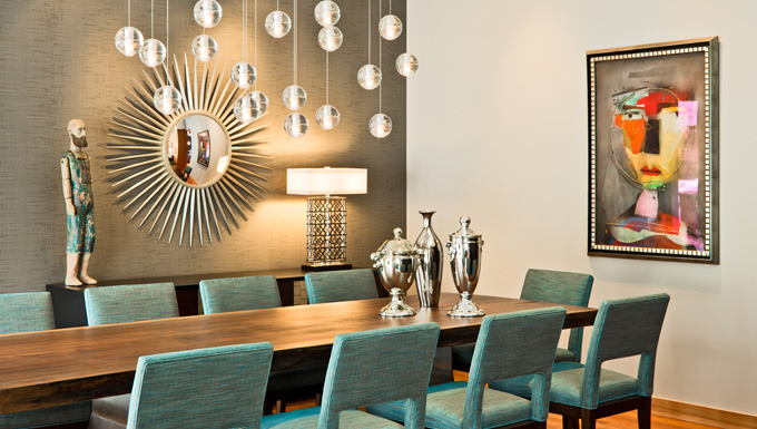 Contemporary Retro Dining - Golden Valley, MN