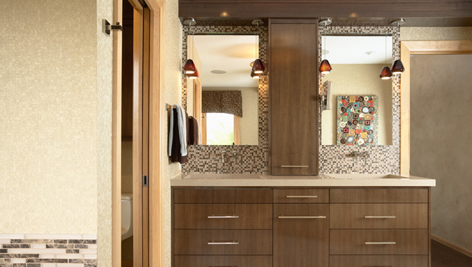 Bathroom Design: Sleek and Modern