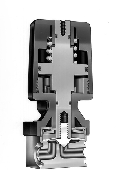 Figure 2: Diaphragm valves provide rapid shutoff and precise actuation speeds. Among all valve types, they provide the highest cycle life, a product of the valve's highly engineered anatomy.