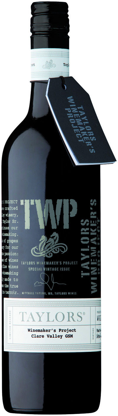 The 2010 Taylors Winemaker's Project GSM
