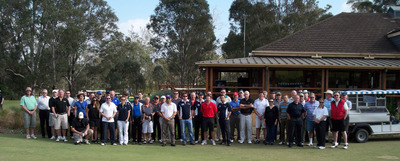 The 2011 NSW AIP charity golf day