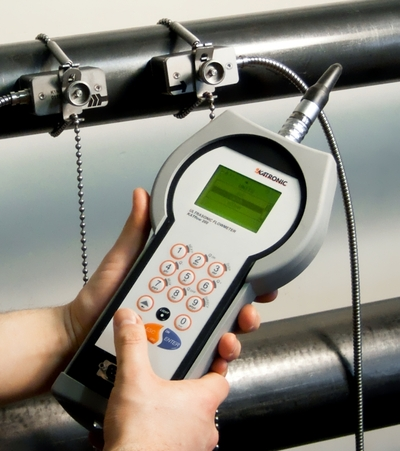 Katronic Technologies flowmeter in action