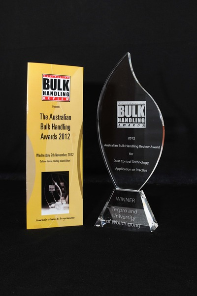 The Australian Bulk Handling Review award