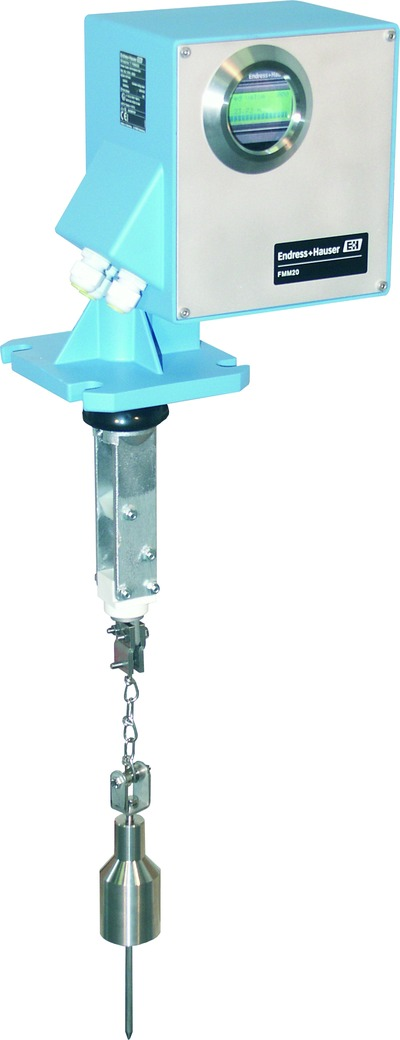 Figure 1: Electromechanical level measuring device for solids (Endress+Hauser)