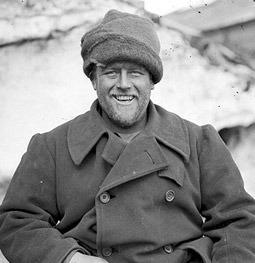 Walter Hannam in Antarctica