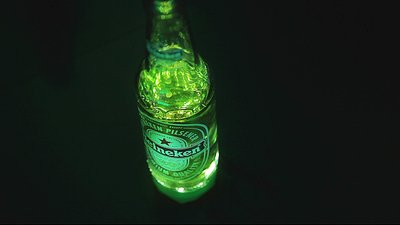 Heineken Ignite bottle.