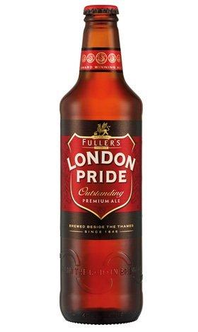New London Pride bottle.