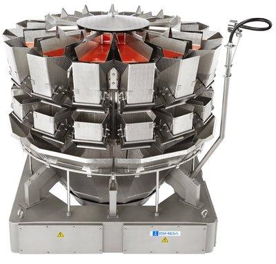 The award-winning Ishida RV series multihead weigher.