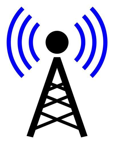 Wi-Fi antenna symbol
