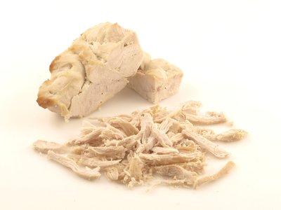 Shredded chicken.