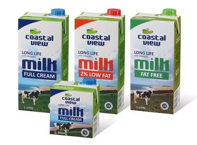 Coega Dairy's Coastal View range.