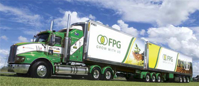 A Fresh Produce Group truck