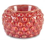 Red Hobnail Electric Warmer