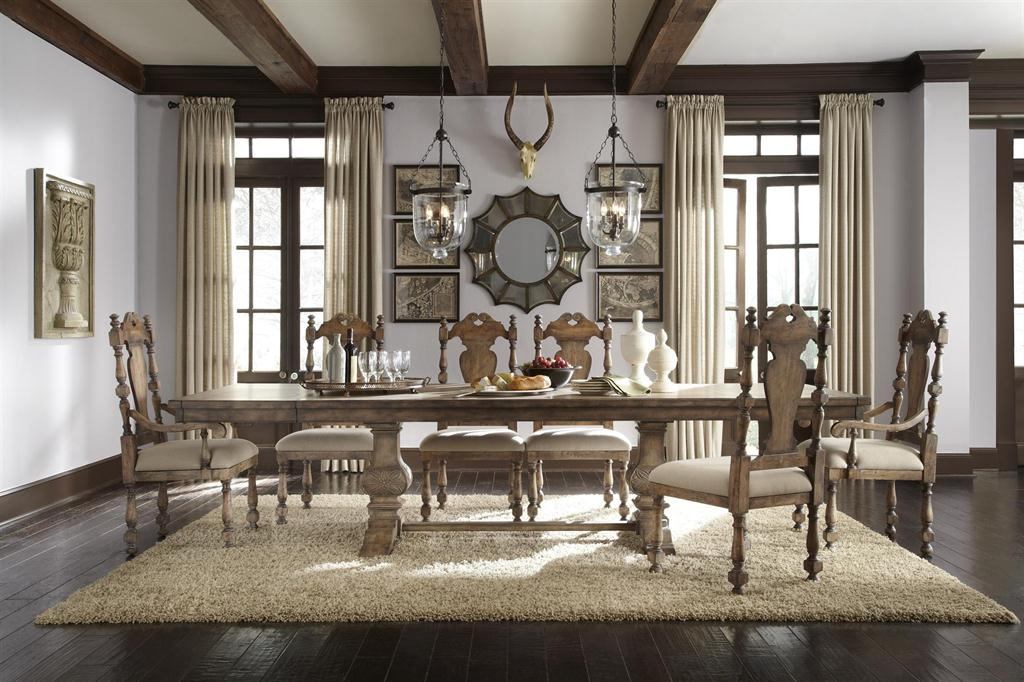Attractive Desdemona Rectangular Table (Accentrics Home Dining Tables)