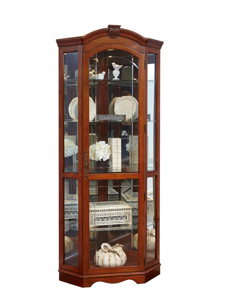 Pulaski furniture curios display cabinets gallery for Curio cabinet