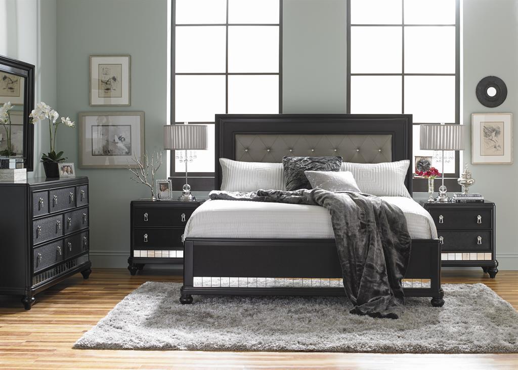 Diva Midnight Headboard 6/6-6/0 (Diva Midnight Beds)   Home Meridian