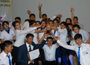 Enactus Tajikistan National Champion - Institute of Economy and Trade of Tajik State University of Commerce
