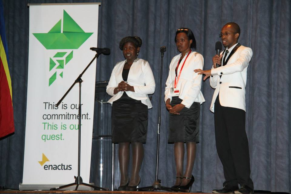 team presenting