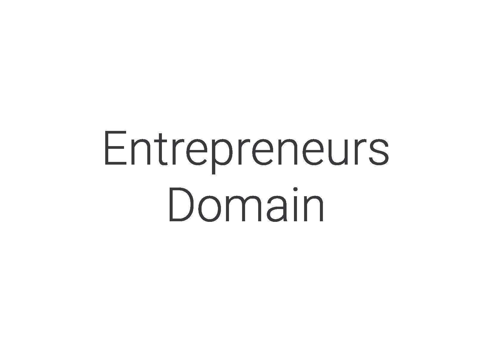 Entrepreneurs Domain