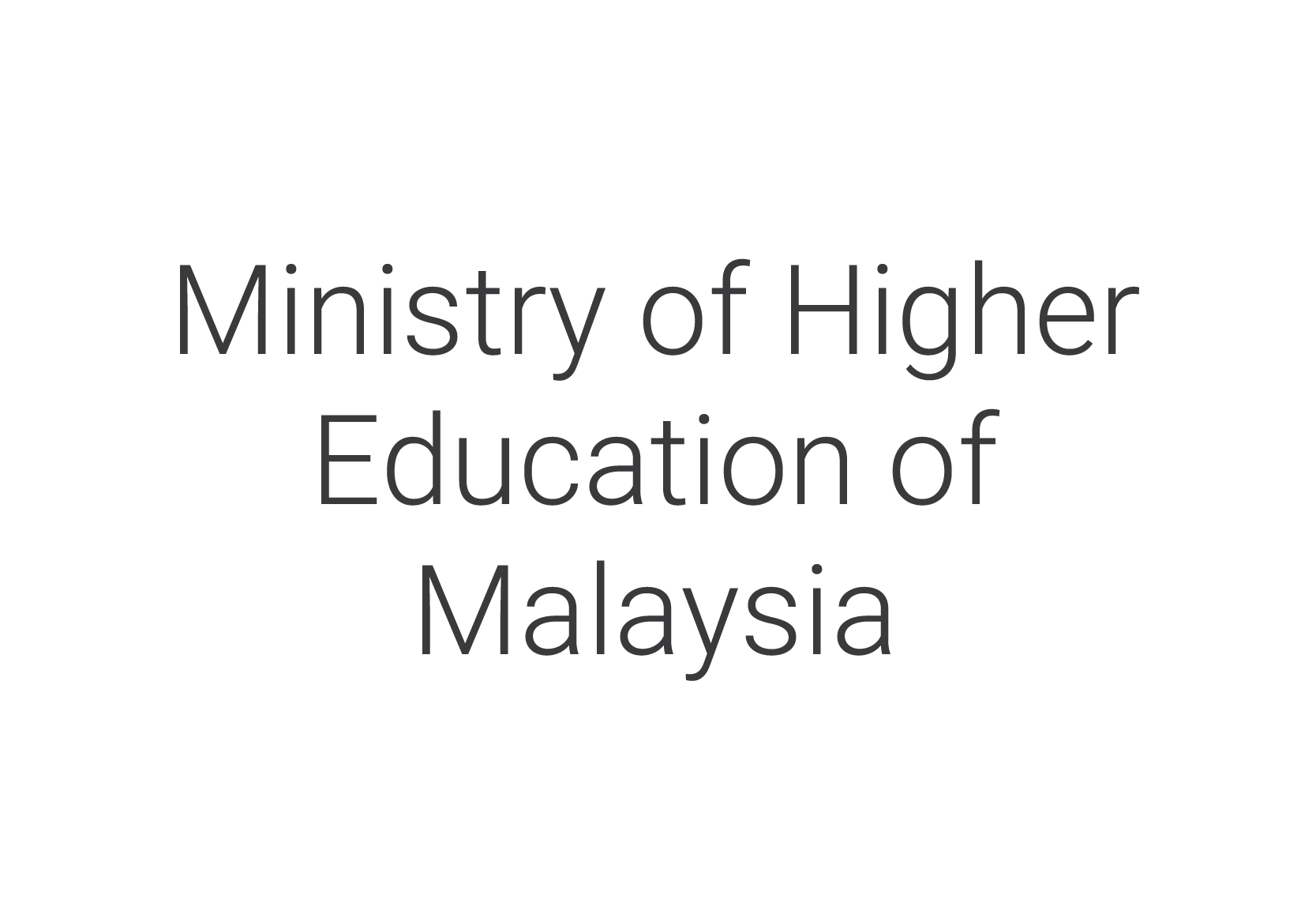 Ministry of Higher Education of Malaysia