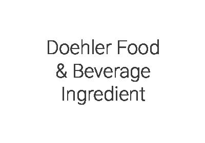 Doehler Food & Beverage Ingredient