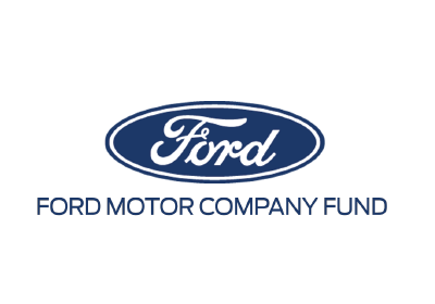 Ford Motor Company Fund Stacked Logo Version